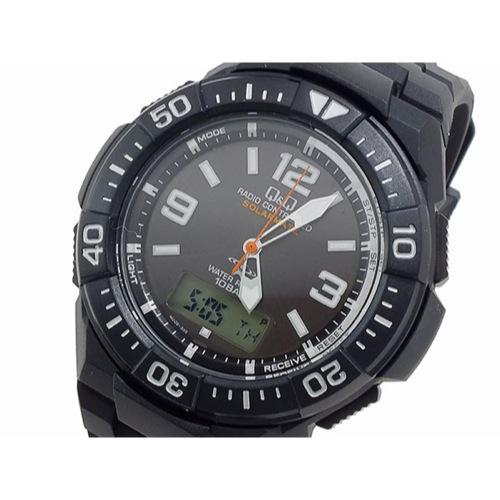 シチズン キューアンドキュー Q&Q クオーツ メンズ アナデジ 腕時計 MD06-305