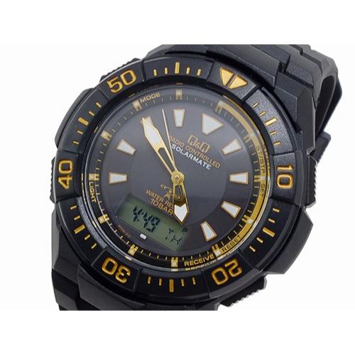 シチズン キューアンドキュー Q&Q クオーツ メンズ アナデジ 腕時計 MD06-312