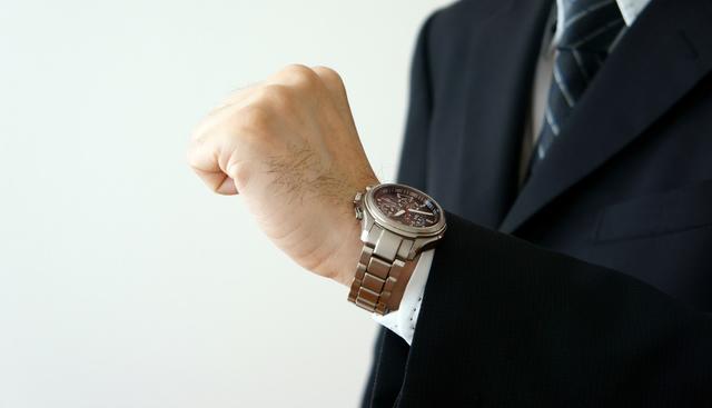 時間に正確でほとんど狂いがない腕時計