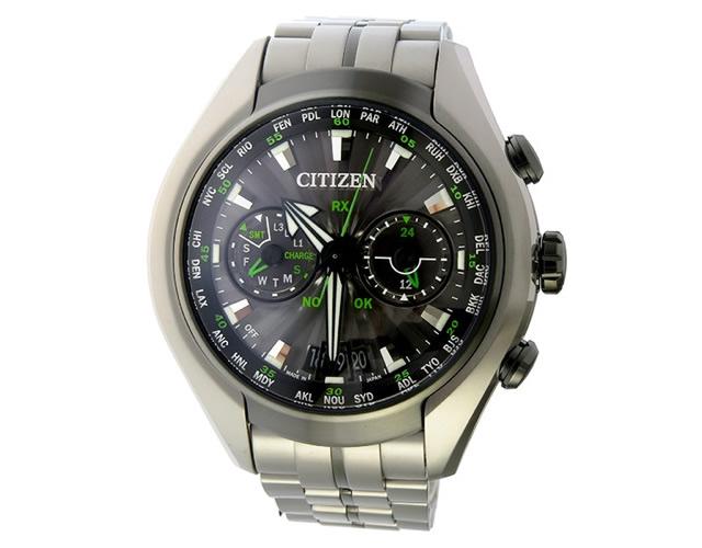 タフでがっしりとした見た目が男っぽい腕時計