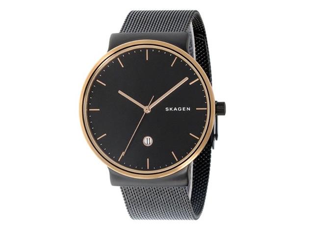 インテリ系で信頼度も増す腕時計