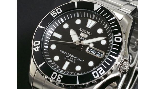 セイコー5スポーツのメンズ腕時計の評判