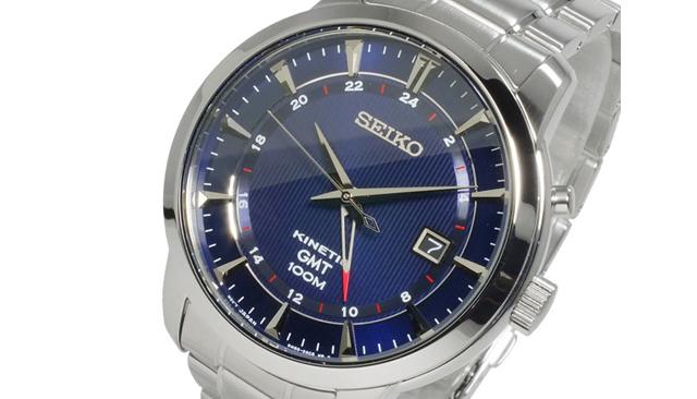 セイコーキネティックのメンズ腕時計の評判