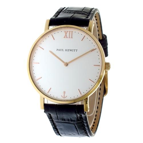 ポールヒューイット ユニセックス 腕時計 6452344 PH-SA-R-ST-W-15M ホワイト/ブラック