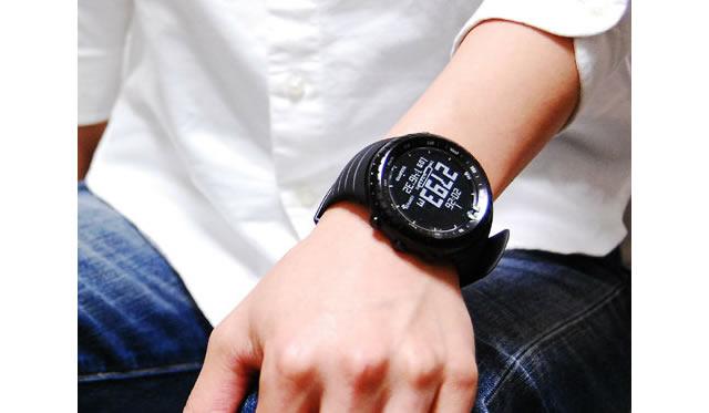 耐久性に優れた機能性がすごい腕時計