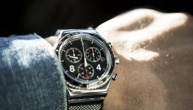 切れ味があってインパクトがある腕時計