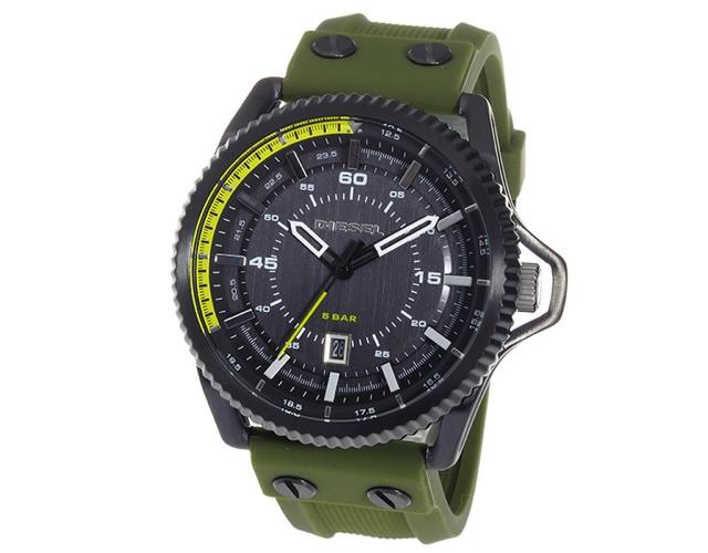 安定感と計算された見易さがある腕時計