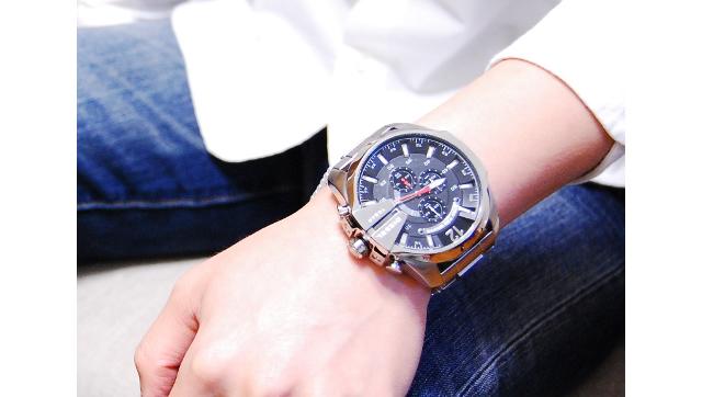 男らしくてかっこいい腕時計