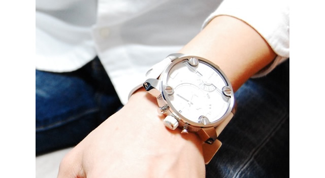 男らしくてカッコいいデザインが心躍る腕時計
