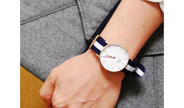 遊び心がほしいならダニエルウェリントン腕時計