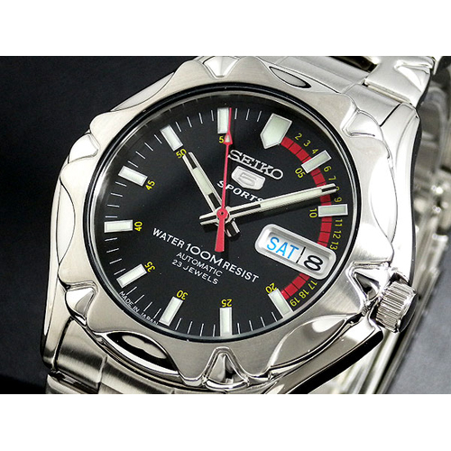 セイコー セイコー5 スポーツ 日本製 自動巻 メンズ 腕時計 SNZ447J1