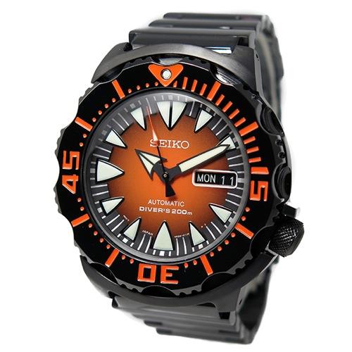 セイコー SEIKO スーペリア ダイバーズ 自動巻き メンズ 腕時計 SRP311 オレンジ