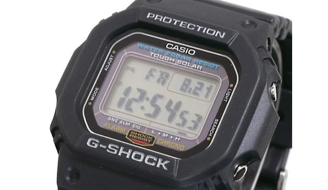 Gショックデジタルシリーズは機能的で経済的