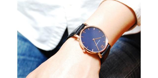 高級感があって、爽やかオシャレに決まる腕時計