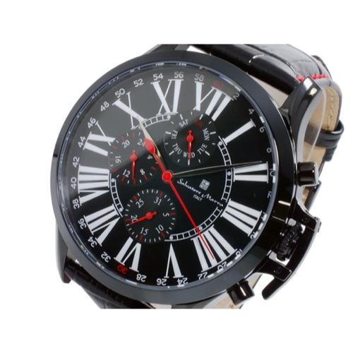 サルバトーレマーラ クオーツ メンズ 腕時計 SM14123-IPBK