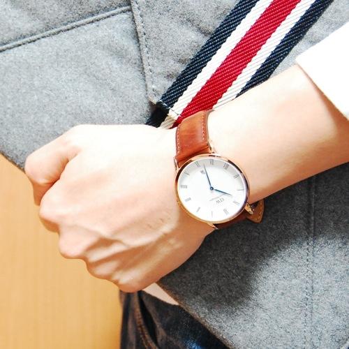 ダニエル ウェリントン セントモース/ローズ 38mm クオーツ 腕時計 1100DW