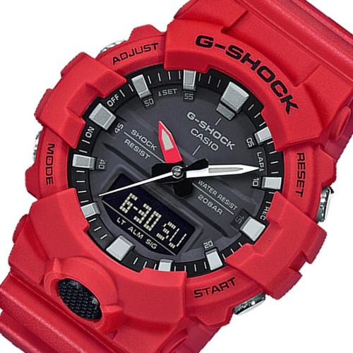 カシオ CASIO G-SHOCK アナデジ クロノ クオーツ メンズ 腕時計 GA-800-4ADR ブラック