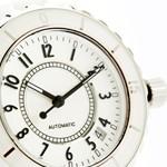 個性的でカッコいいディーゼルの白ベルト腕時計