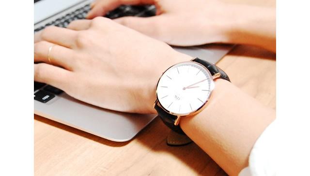 飾らない感じがかっこいい腕時計