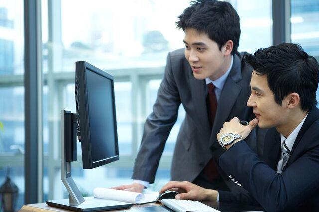 ビジネスシーンでの男性目線のイメージは?