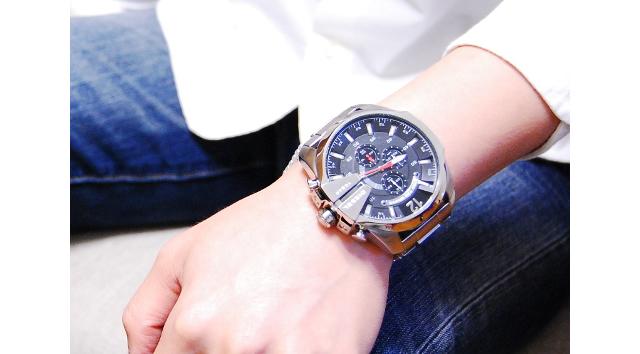 とにかく男らしくてタフな作りが魅力な腕時計