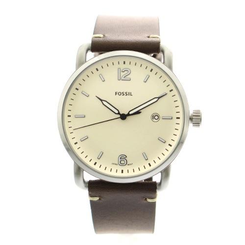 フォッシル FOSSIL 腕時計 メンズ レディース FS5275 クォーツ アイボリー ブラウン