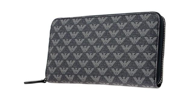 エンポリオアルマーニのメンズ長財布は男らしくて上品なデザインが素敵