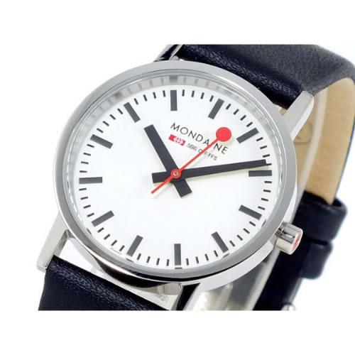 モンディーン 腕時計 A658.30323.11SBB ブラック
