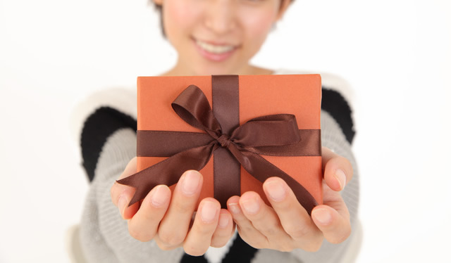 特別な日にプレゼントをくれる
