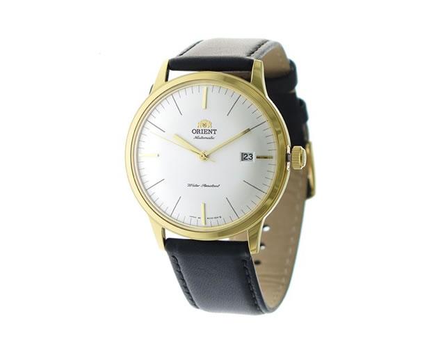 オリエント革腕時計