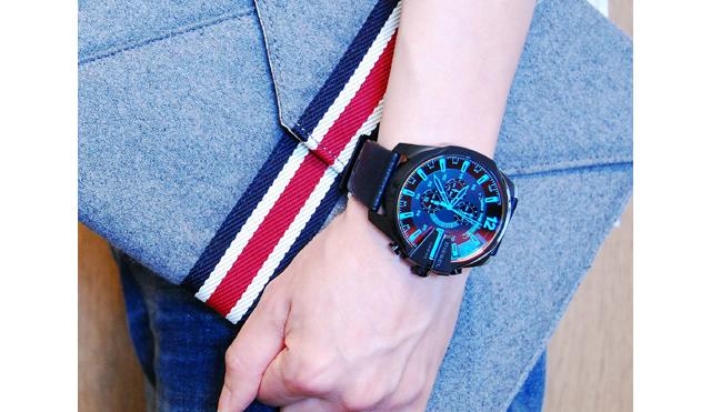 ディーゼルのメンズ腕時計の魅力