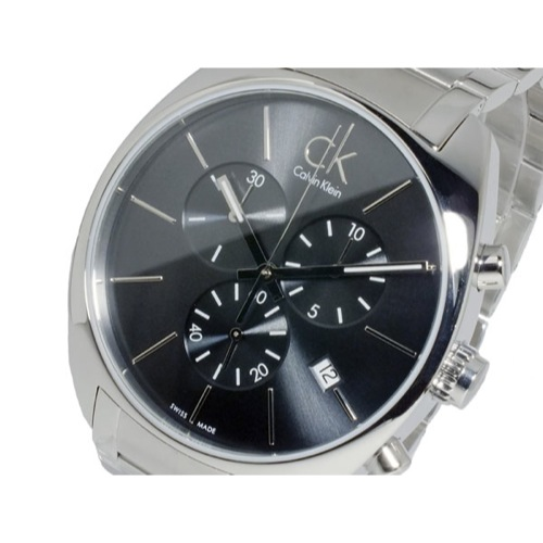 カルバン クライン CALVIN KLEIN クオーツ メンズ クロノ 腕時計 K2F27161