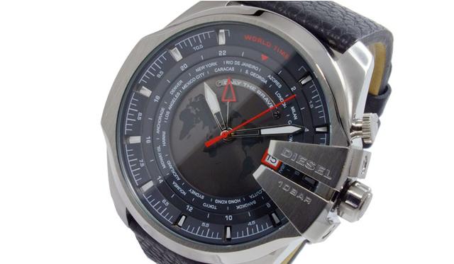 センスの良さをアピールしてくれる「ディーゼル」腕時計 革ベルトがおすすめ!