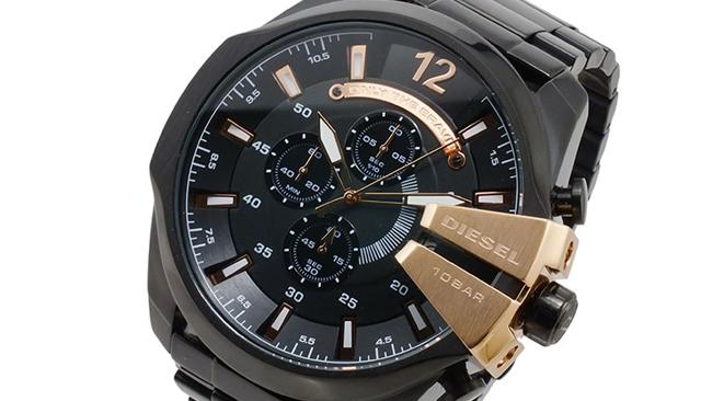 ディーゼルのメンズ腕時計メタルシリーズはオシャレで重厚感がラグジュアリー