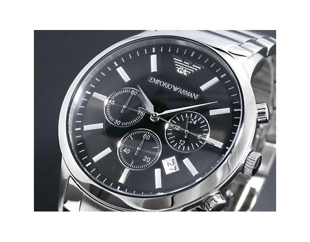エンポリオメタルバンド腕時計