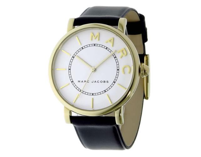 マークジェイコブス革ベルト腕時計