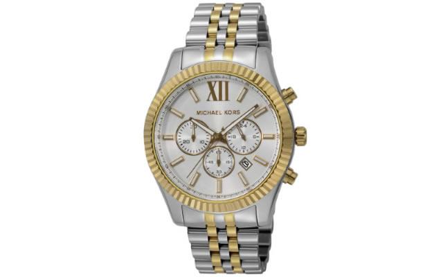 マイケルコースメタルバンド腕時計