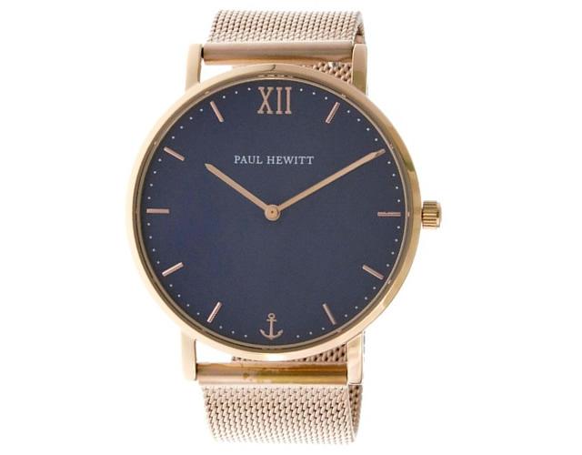 ポールヒューイットメタルバンド腕時計