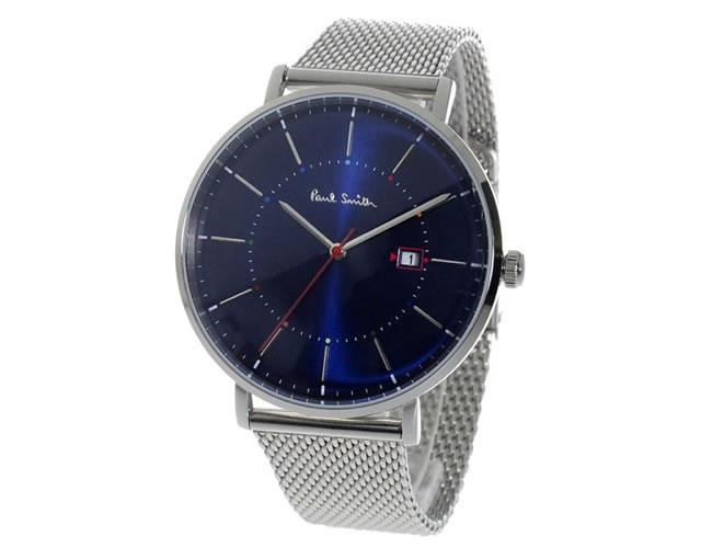 ポールスミスメタルバンド腕時計