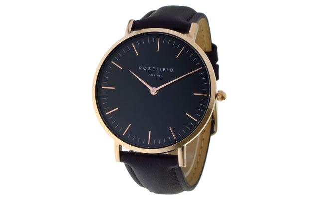 ロースフィールド革ベルト腕時計