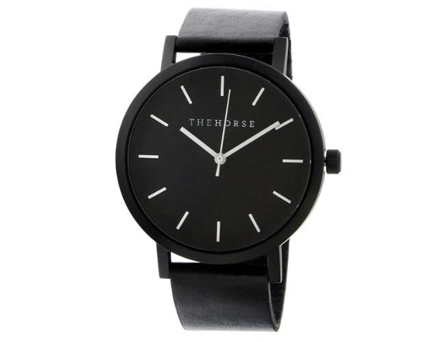 ザホース革ベルト腕時計