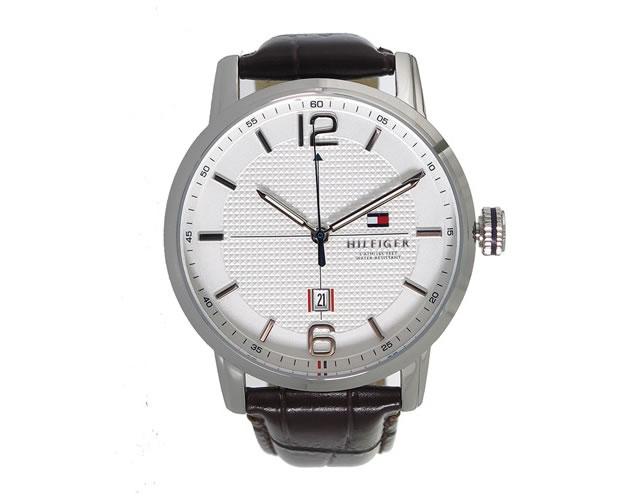 トミー革ベルト腕時計