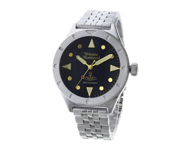 ヴィヴィアンウエストウッドメタルバンド腕時計