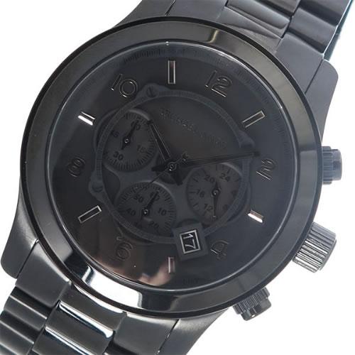 マイケルコース クオーツ メンズ 腕時計 MK8157 ブラック