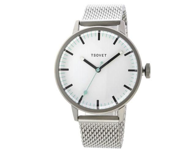 ソベットメタルバンド腕時計