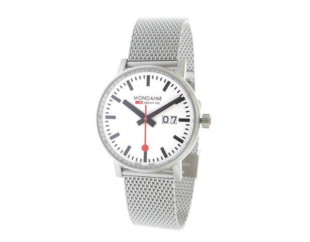 モンディーンメタルバンド腕時計