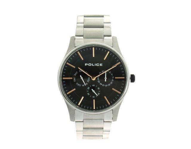 ポリスメタルバンド腕時計