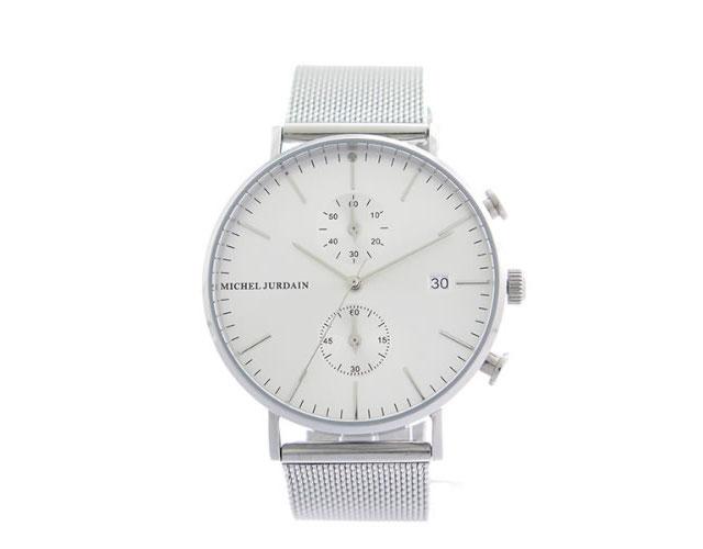 ミシェルジョルダンメタルバンド腕時計