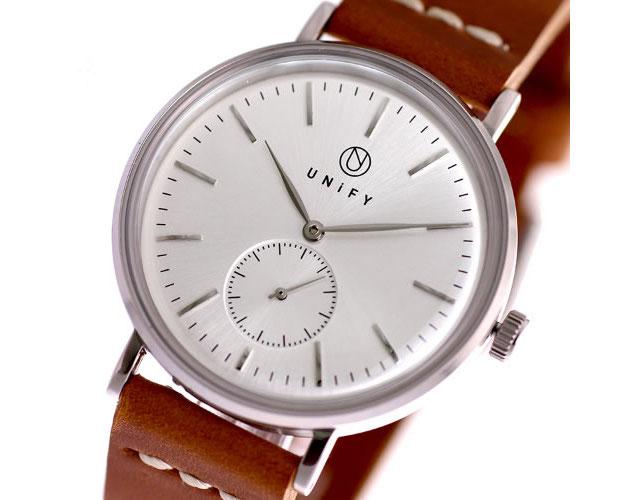 ユニファイ革ベルト腕時計