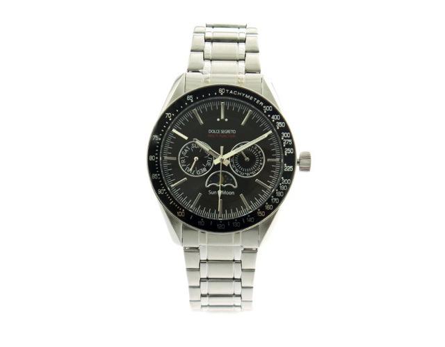 ドルチェセグレートメタルバンド腕時計
